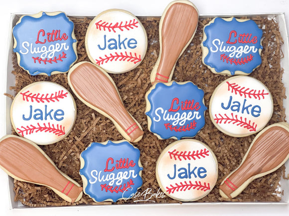 Baseball Themed Cookies - 1 dozen