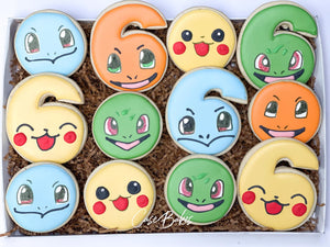 Pokemon Cookies - 1 Dozen