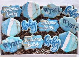 Watercolor Baby Shower - 1 Dozen