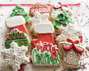 Christmas sugar cookies - 1 Dozen
