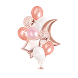 Eid Mubarak Balloon Bouquet - Rose Gold