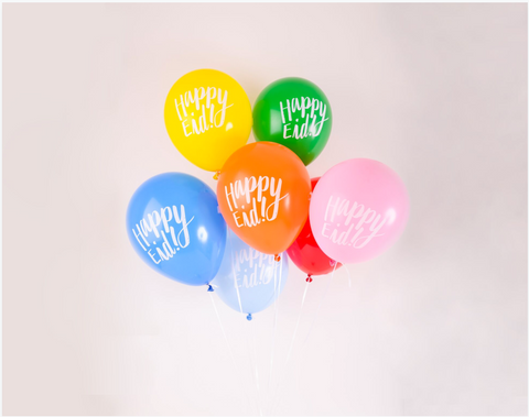 happy eid balloons - assorted