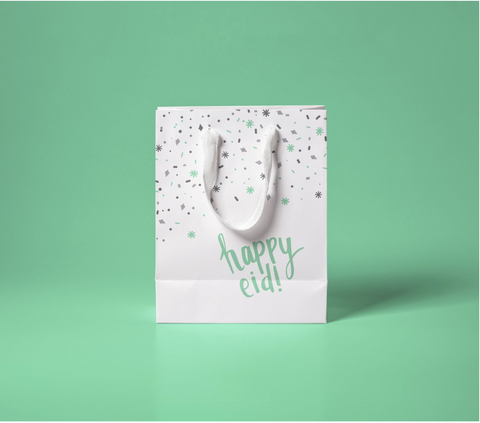 "Happy Eid Gift Bags - ""Confetti"" (Large)"