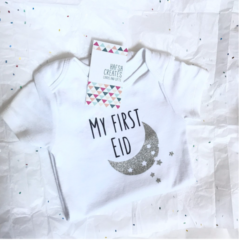my first eid onesie