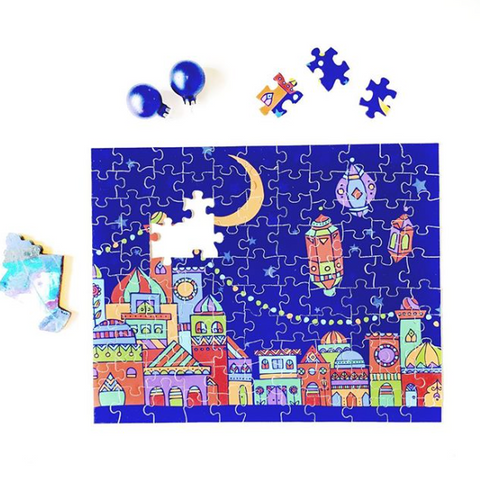 Islamic puzzle - blessed night