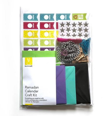 Ramadan Make Your Own Calendar Kit