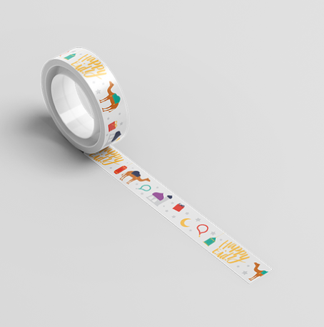 Washi Tape (Happy Eid, Party)