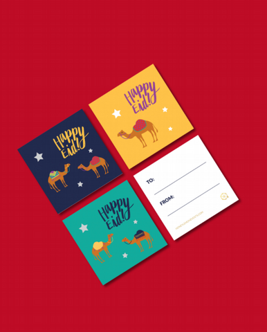 Happy Eid Mini Cards / Tags