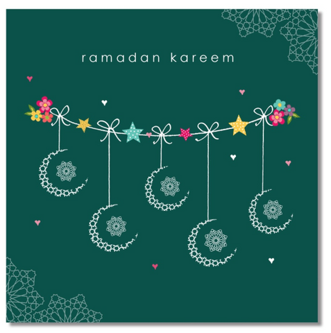 Ramadan Greeting Card - Confetti