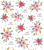 Floral Bouquet Giftwrap Set