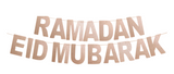 Glitter 2-in-1 Eid and Ramadan Mubarak Banners