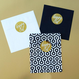 Gold Happy Eid Stickers