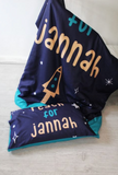 Reach for Jannah - Blue or Pink (Single Size)