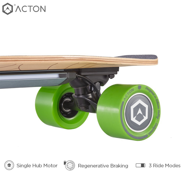 New Acton Blink S R Electric Skateboard 15 Mph Speed 7