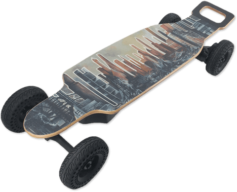 Chargiot BOMB Electric Skateboard - The Portable Electric Vehicle you'll fall in love with!