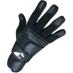 HillBilly Wrist Guard Gloves - Black - Full Finger