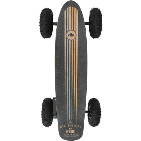 Off Road E-Board - Fiik Big Daddy Electric Skateboard W/30AH Enduro Lithium - The Off Road Master