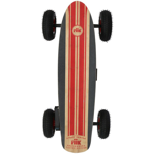 Off Road E-Board - Fiik Street Surfer Electric Skateboard - The Ultimate On-Road, Off-Road Board