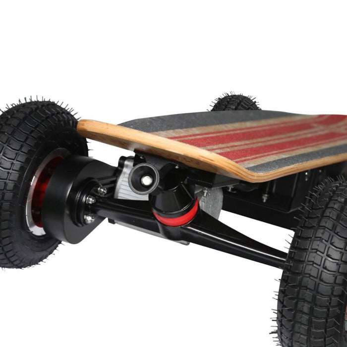 Off Road E-Board - Fiik Street Surfer Electric Skateboard W/30AH Enduro Lithium - The Ultimate On-Road, Off-Road Board