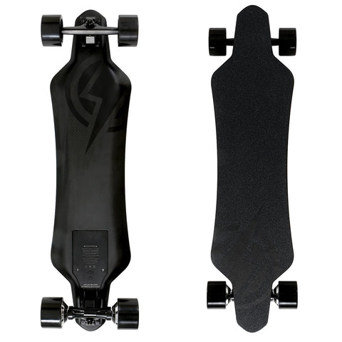 Street E-Board - Atom Electric H16D Carbon Longboard Skateboard - It Rides As Good As It Looks, And It Looks Awesome!