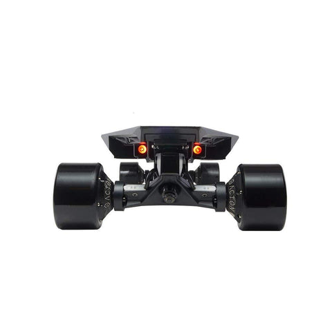 Street E-Board - Blink QU4TRO - 2000W 4 Hub Motor - 23 MPH - 22 Mile Range - 30% Incline Rate - Tension Suspension - Regenerative Braking - Aircraft Graded Aluminum/Carbon Fiber Deck