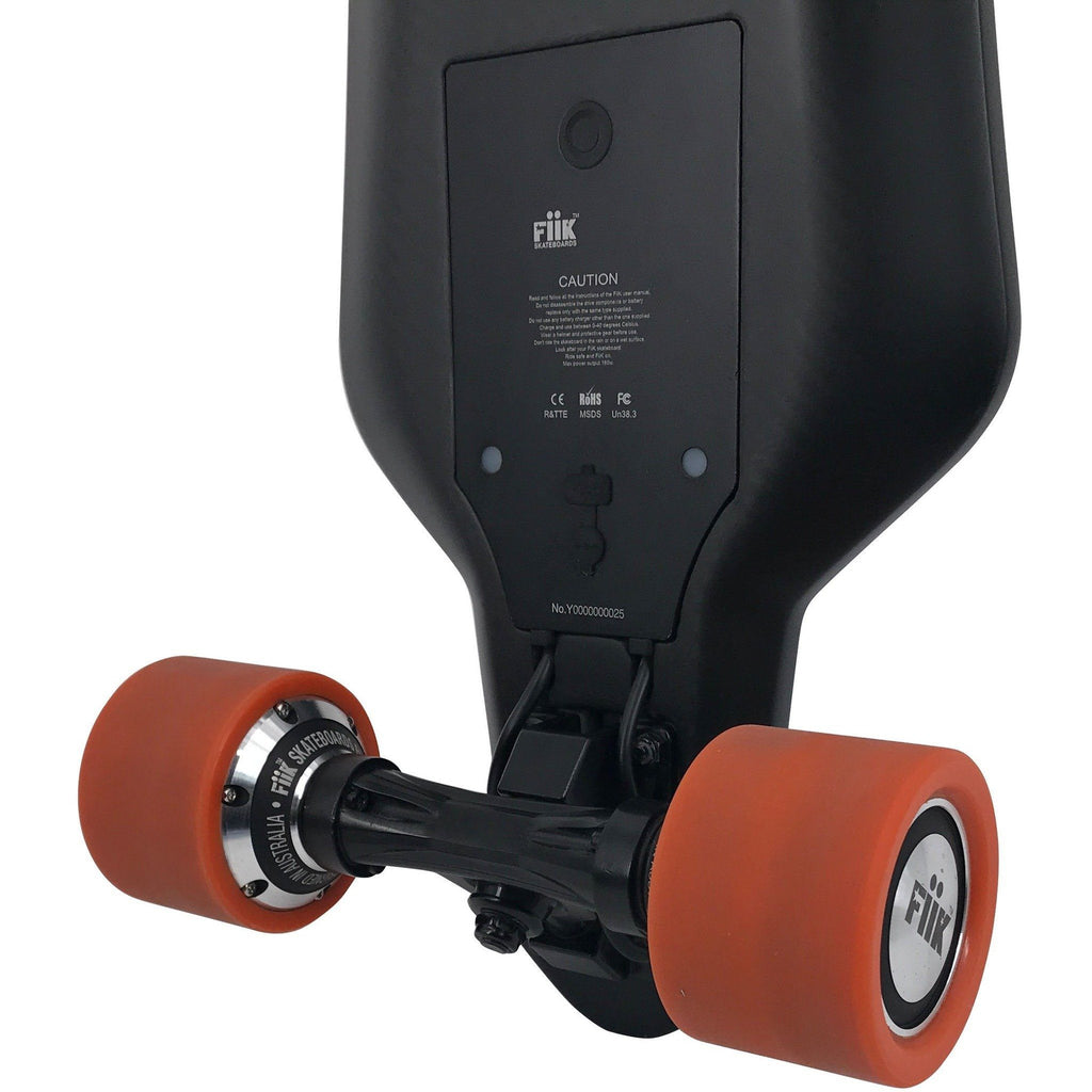 Street E-Board - Fiik Stinger Electric Skateboard Longboard - Light Weight Carbon Board With Plenty Of Power!
