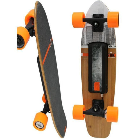 Street E-Board - Mini Fiik Electric Skateboard - Small Board With Big Performance!