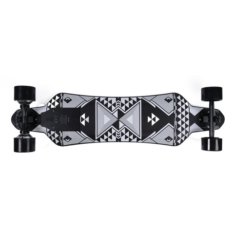 Street E-Board - SoFlow Flowdeck X - 2800W Dual Hub Motor - 25 Degree Incline Rate - 18MPH - 10 Mile Range