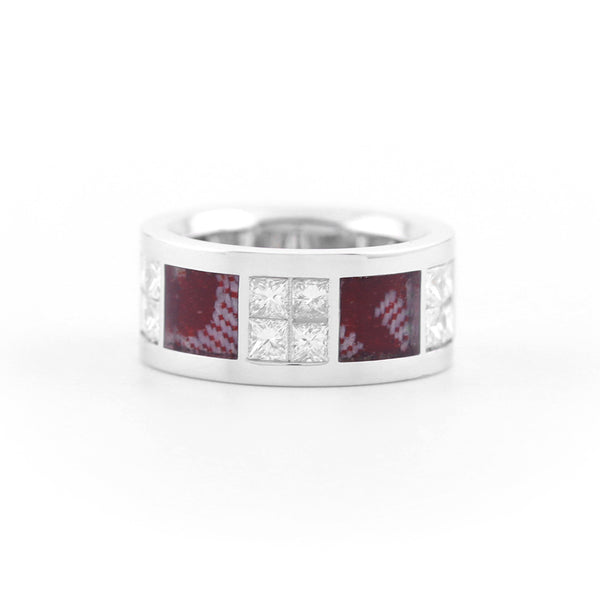 PLATINUM KISWAH RING