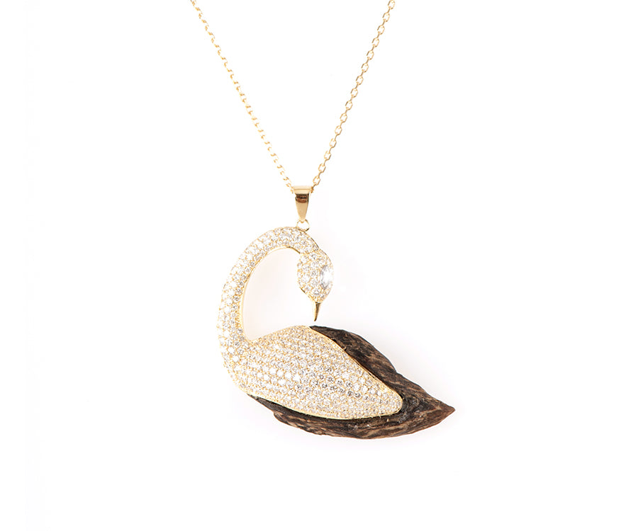 OUD PENDANT THE WHITE SWAN