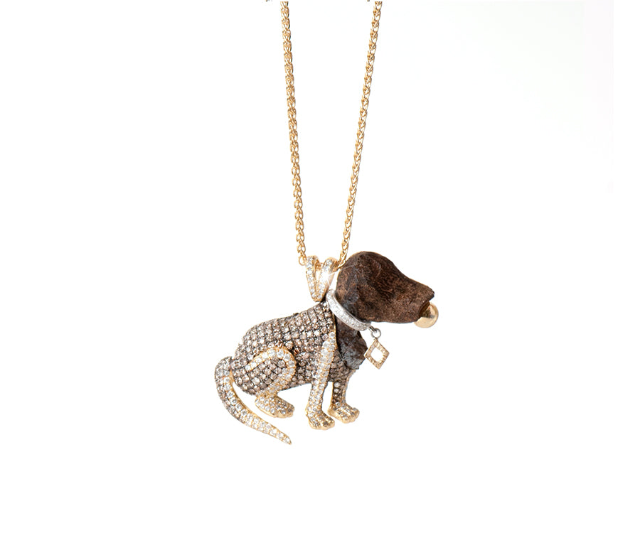 OUD PENDANT THE PUPPY