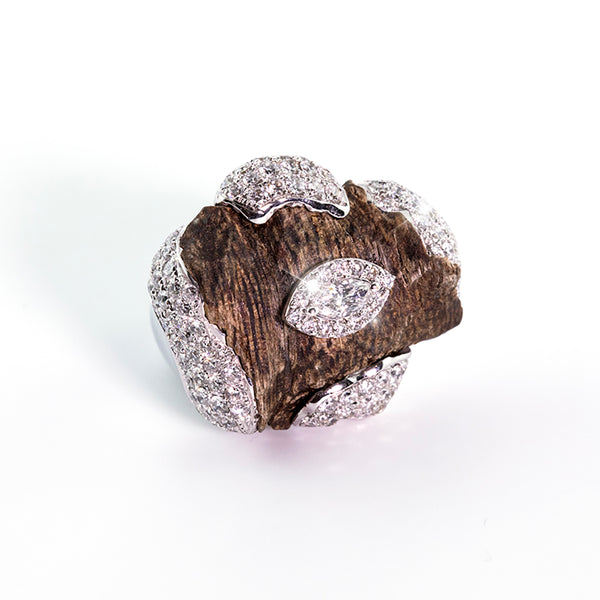 OUD RING TOUCH OF ART