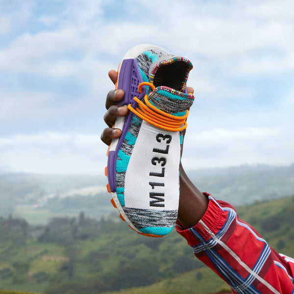 98c6fe974 Pharrell and adidas Originals continue their heralded partnership with the  official unveiling of the SOLARHU Collection and a distinct color palette  ...