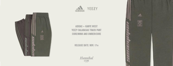 eef20ca2 Kanye West's collaborative adidas Calabasas track pants are back with some  fall-ready colorways. The latest announcement follows an October 13 release  which ...
