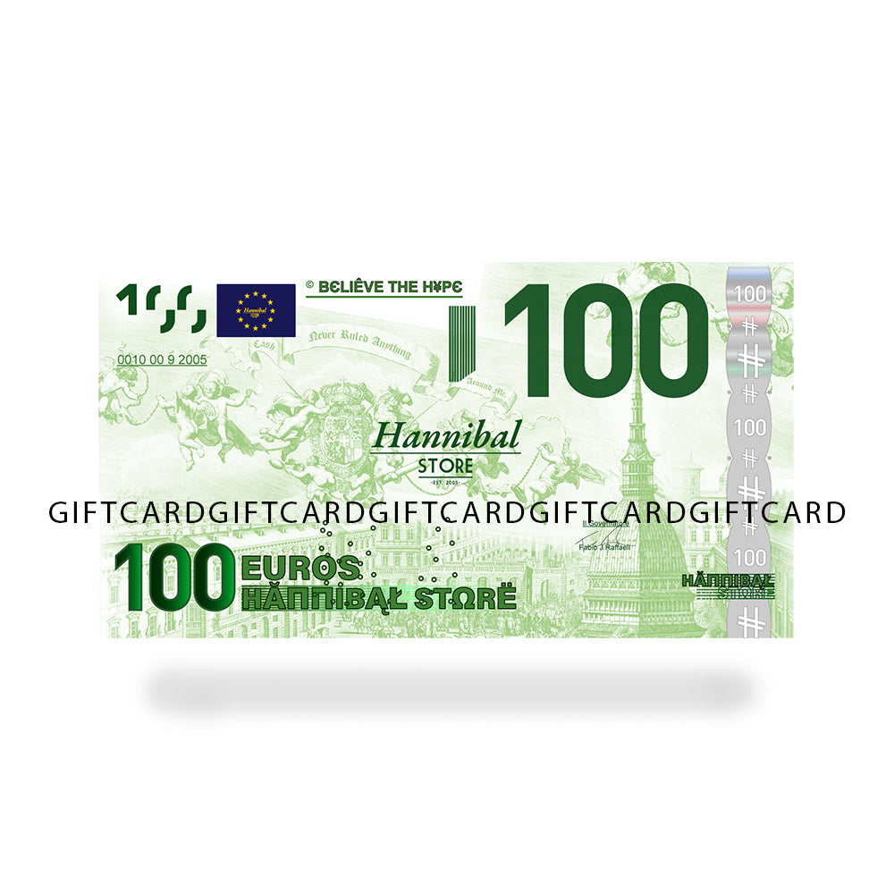 HANNIBAL STORE GIFT CASH CARDS 100