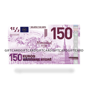 HANNIBAL STORE GIFT CASH CARDS 150