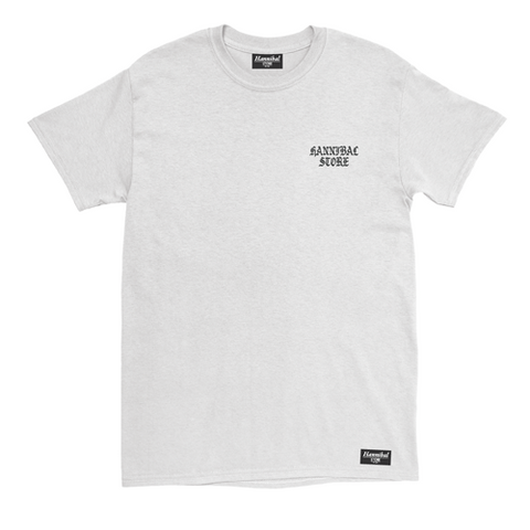 HANNIBAL WEST SIDE LOGO WHITE TEE