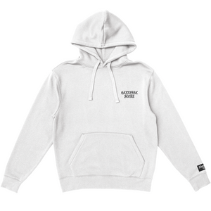 HANNIBAL WEST SIDE LOGO WHITE HOODIE