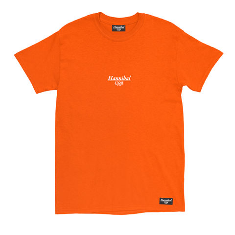 HANNIBAL CLASSIC TEE ORANGE