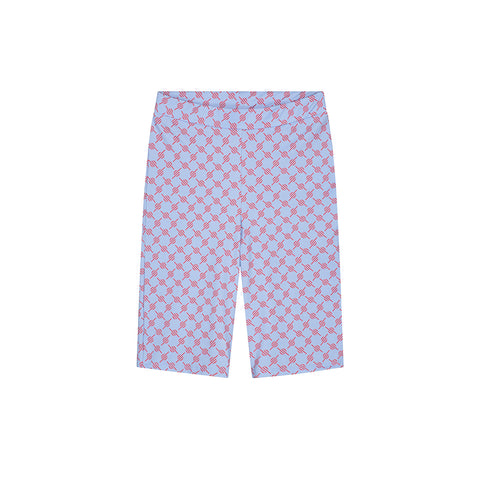 DAILY PAPER KYCLING SHORTS BLUE RED MONOGRAM
