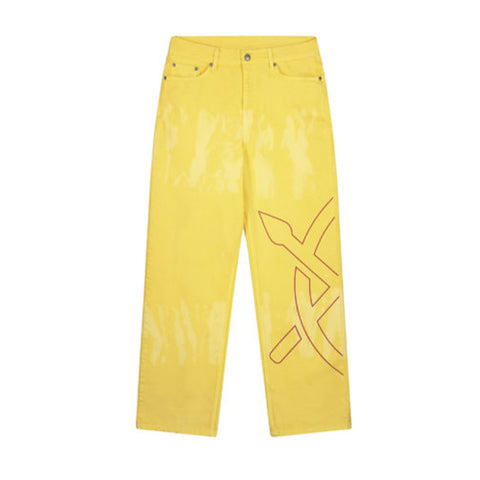 DAILY PAPER YELLOW KARESH PANTS