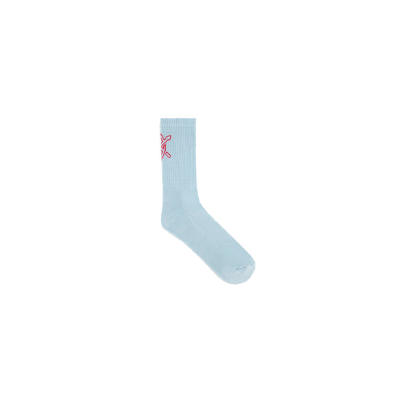 DAILY PAPER KERET SOCKS BLUE RED