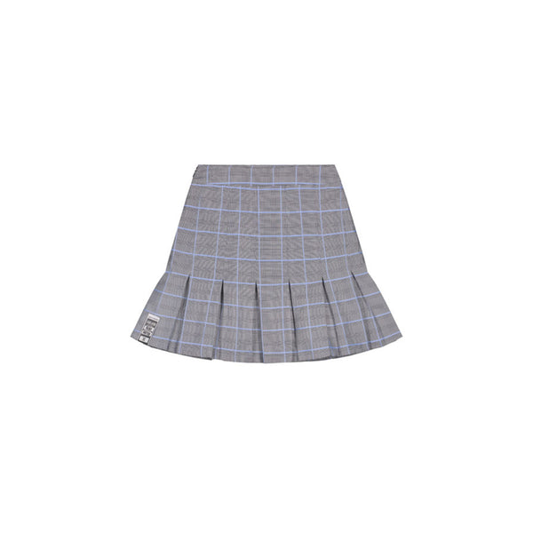 DAILY PAPER KENEE SKIRT BLUE CHECK