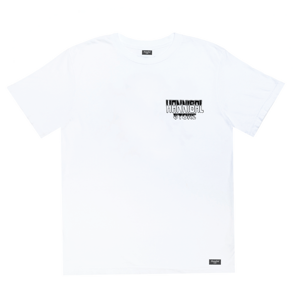 HANNIBAL STORE DESTROY T-SHIRT WHITE