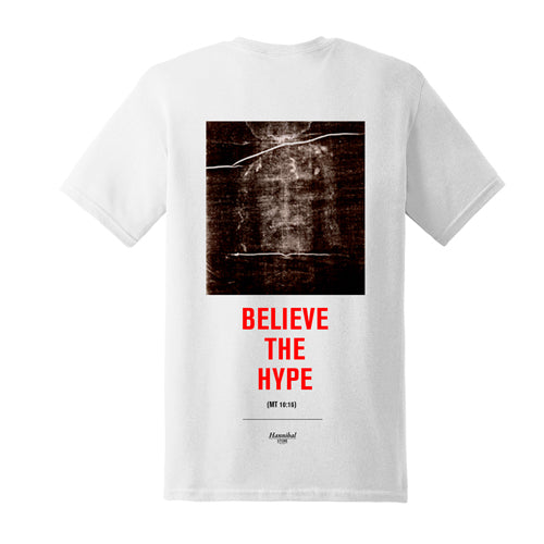 HANNIBAL BELIEVE THE HYPE TEE WHITE