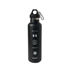 MISTER GREEN GEAR BONG WATER BOTTLE BLACK