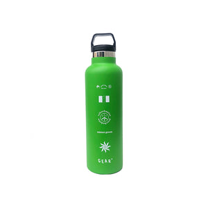 MISTER GREEN GEAR BONG WATER BOTTLE GREEN