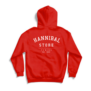HANNIBAL CLASSIC HOODIE RED