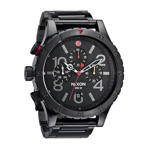 NIXON BASE 48-20 CHRONO ALL BLACK / MULTI