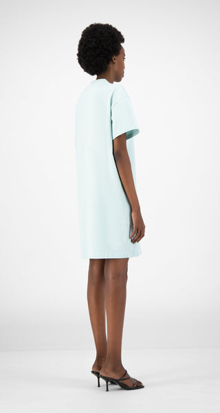 DAILY PAPER PASTEL TURQUOISE DERIB DRESS